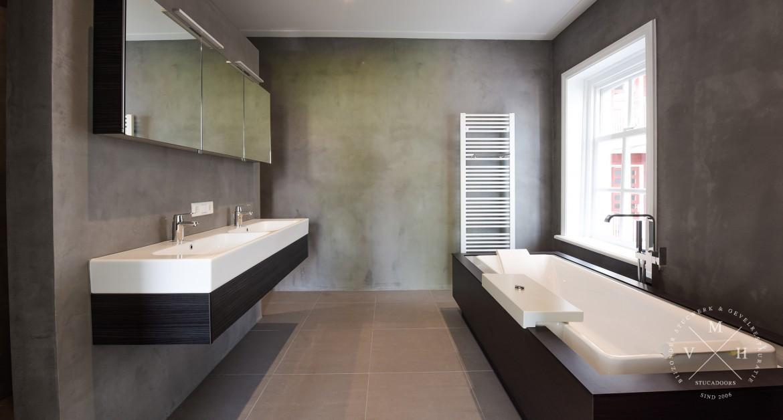 badkamer tegels stucwerk ~ het beste van huis ontwerp inspiratie, Badkamer